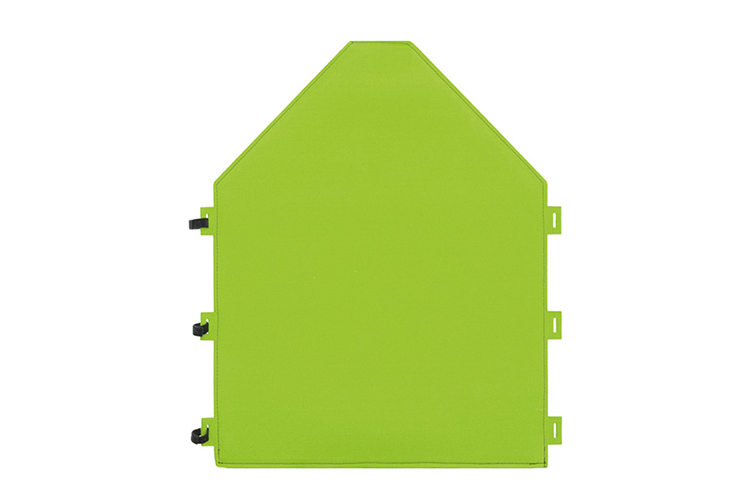 Dekoracyjny produkt w kształcie domu odgrodzi przestrzeń oraz zredukuje hałas, który nie wpływa pozytywnie na skupienie i szybkość przyswajania nauki.