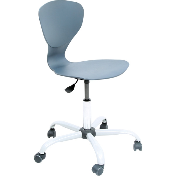 Krzesło Flexi obrotowe na kółkach z regulowaną wysokością zapewni utrzymanie prawidłowej postawy podczas nauki u dziecka.