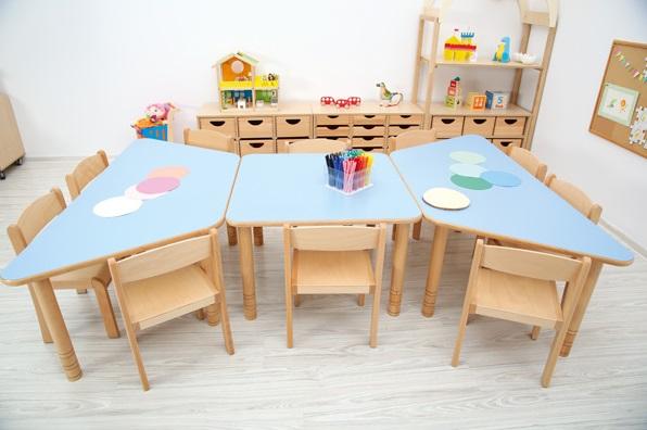 Przedszkolne stoły Flexi