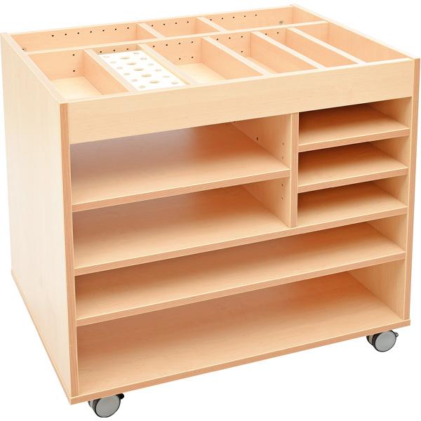 Mobilna szafka plastyczna z kolekcji Flexi