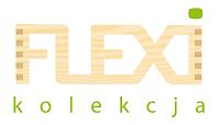 Logo kolekcji meblowej Flexi do przedszkoli i szkół