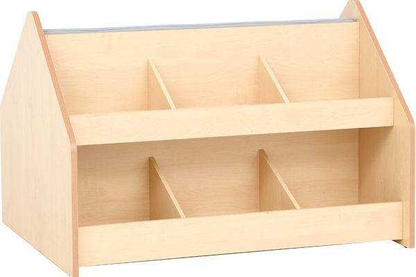 Biblioteczka z ławeczką z kolekcji Flexi