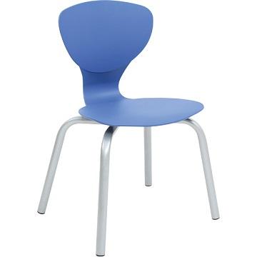 Krzesło Flexi niebieskie
