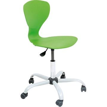 Krzesło Flexi z regulowaną wysokością zielone