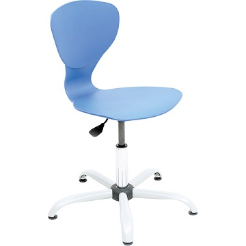 Krzesło Flexi z regulowaną wysokością niebieskie