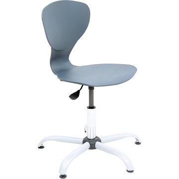 Krzesło Flexi z regulowaną wysokością szare