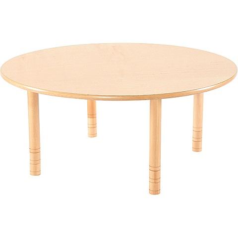 Bukowy okrągły stół Flexi