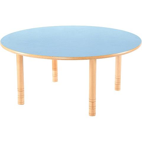 Niebieski okrągły stół Flexi