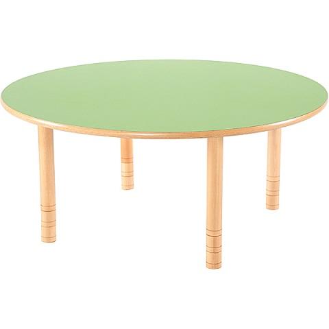 Zielony okrągły stół Flexi