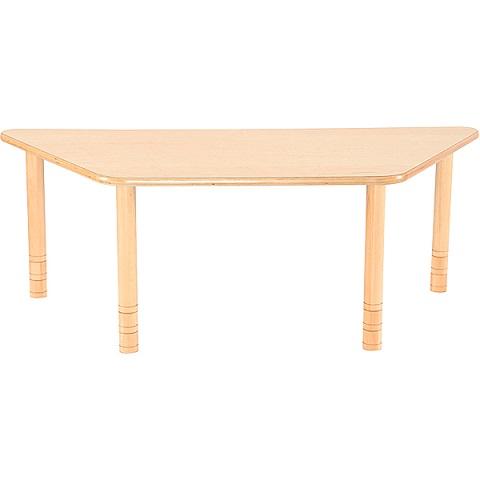 Trapezowy stół Flexi, bukowy