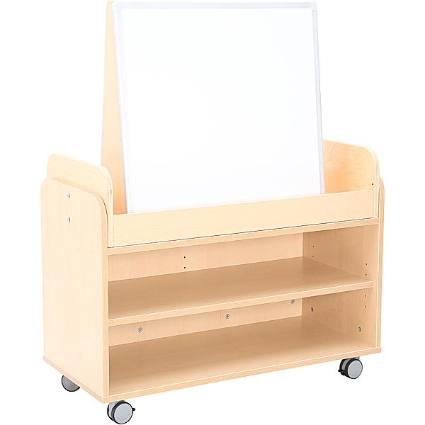 Zestaw 61 Flexi, mobilna szafka z tablicą magnetyczną do przedszkola