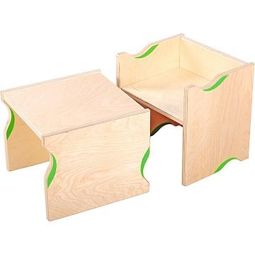 Krzesełko i stolik Flexi 2 w 1