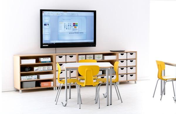 Wyposażenie pracowni szkolnej w meble z kolekcji Flexi