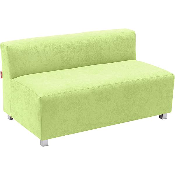 Duża zielona kanapa Flexi